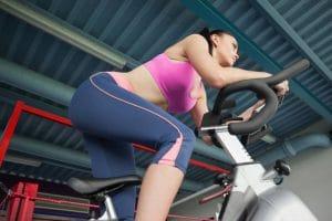 stationary spinning bike - Fitness Expo