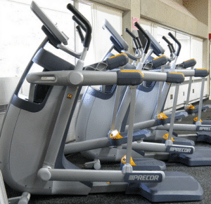 Adaptive Motion Trainer for Low-Impact Cardiovascular Workouts