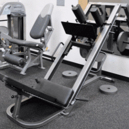 The VX 38 Weight Machine with a 21 Position Fingertip Adjustment Level
