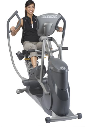 Get a Total Body Workout With Octane Fitness xRide Seated Elliptical