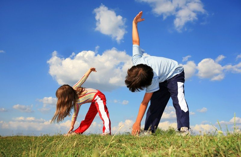 Discover the Joys of Childhood to Get in Shape