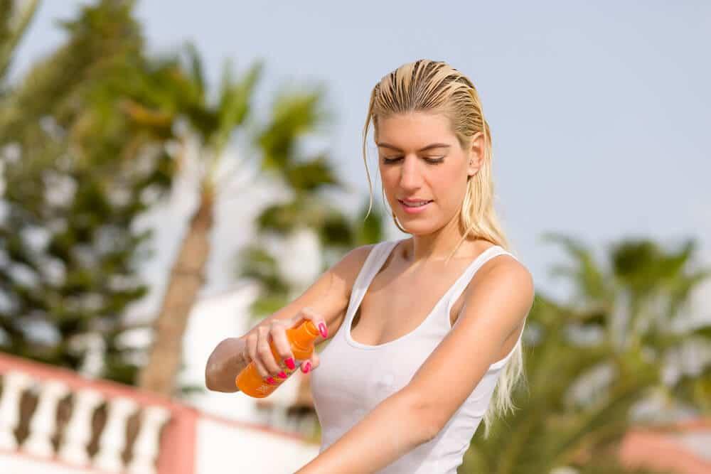enjoy summer workouts using sunscreen