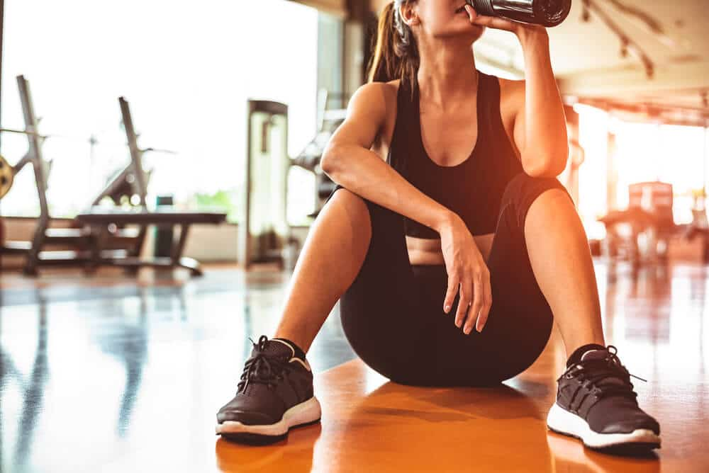 stay hydrated during a summer workout