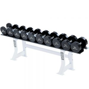 Life Fitness Hammer Strength Single Tier Dumbbell Rack