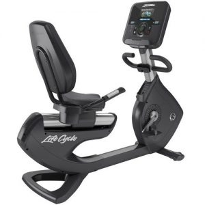 Life Fitness Platinum Club Series Recumbent Lifecycle Bike