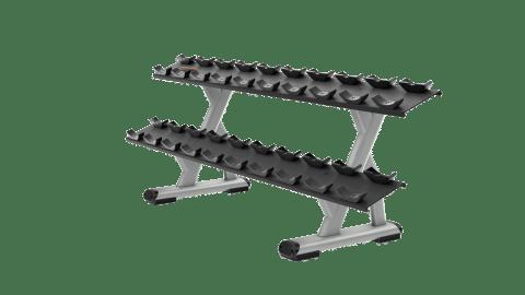 DBR0812 2 Tier 10 Pair Dumbbell Rack