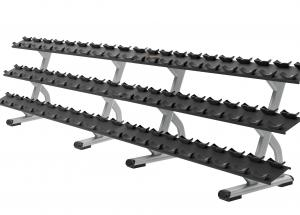 DBR0815 3 Tier 15 Pair Dumbbell Rack (side-by-side)