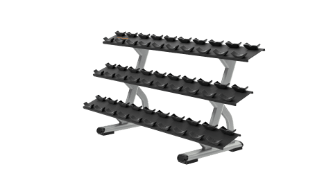 DBR0815 3 Tier 15 Pair Dumbbell Rack