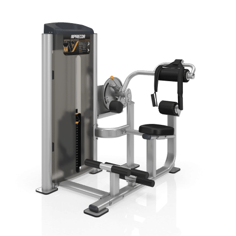 Precor CO28ES Abdominal/Back Extension Vitality Series
