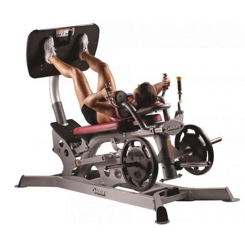 Hoist dual action leg press