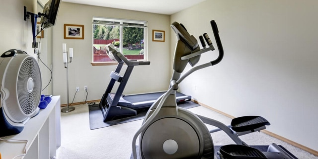 Home small gym room for elliptical machines - Fitness Expo