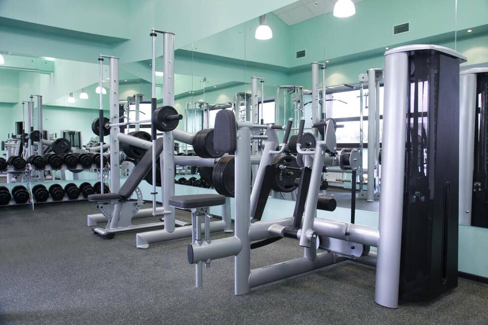 Gym equipment room - Fitness Expo