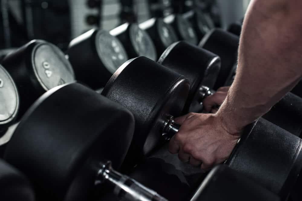 dumbbells - home multi-gym equipment - Fitness Expo