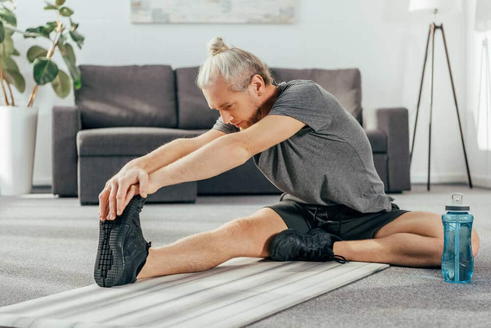 exercising at home - Fitness Expo