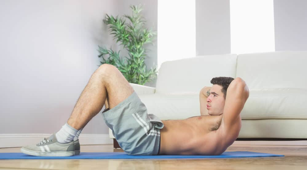 situp exercises - Fitness Expo