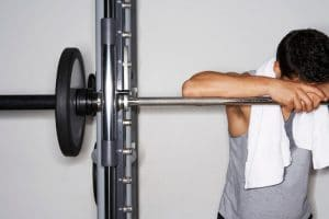 sweat on your fitness equipment - Fitness Expo