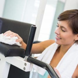 How to Disinfect Your Exercise Equipment