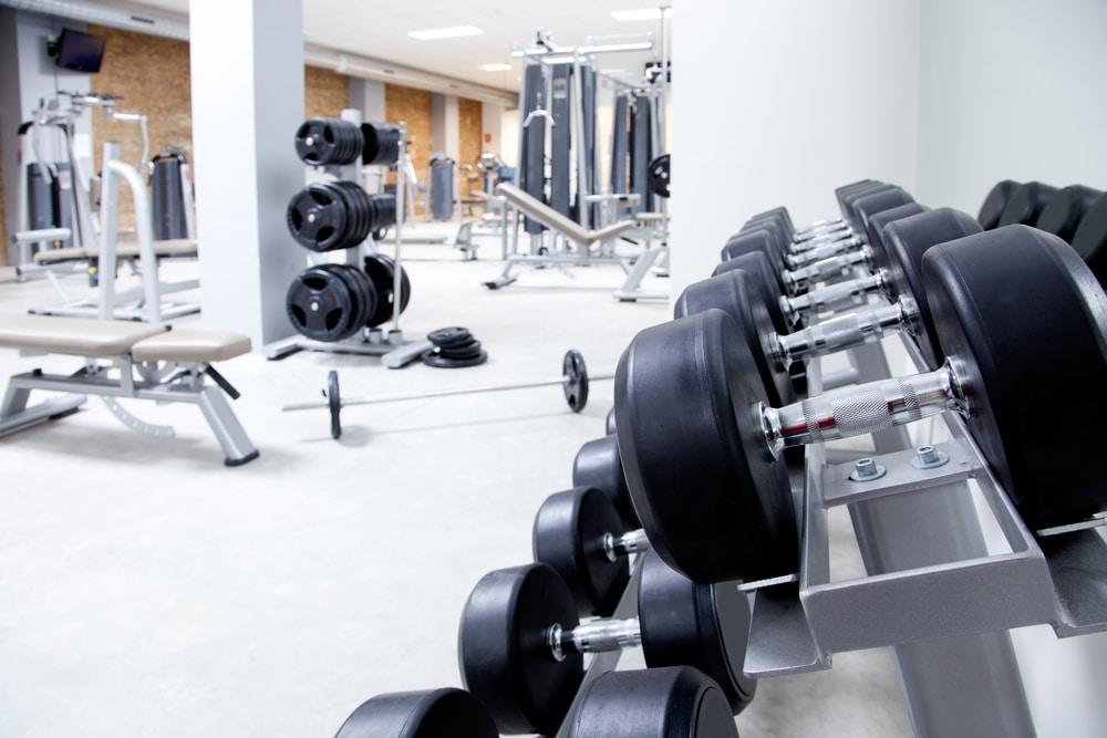 Gym Equipment dumbbells - Fitness Expo