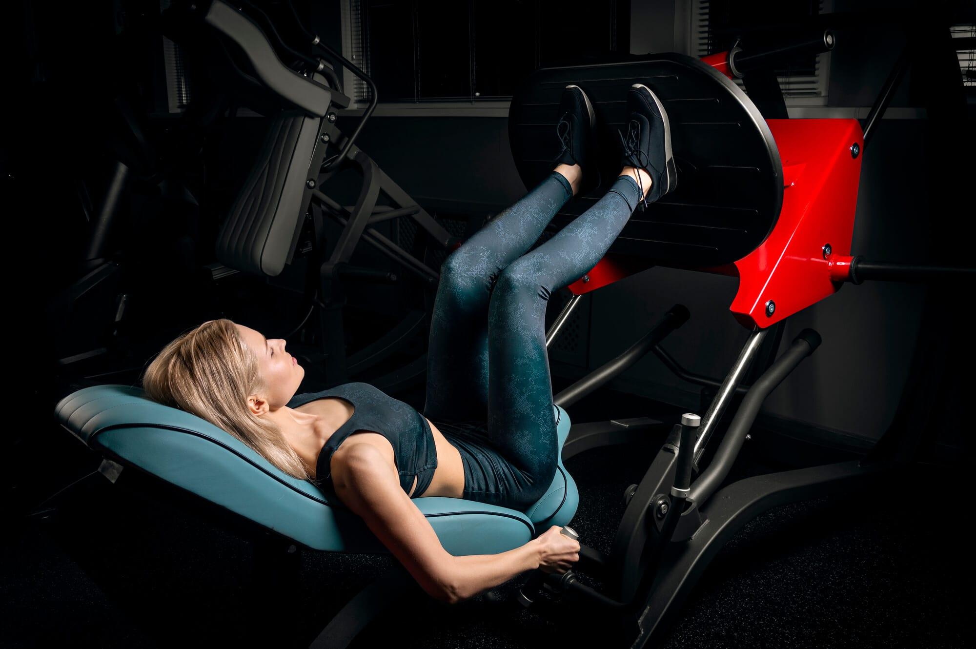 Hack Squat Machine - Fitness Expo