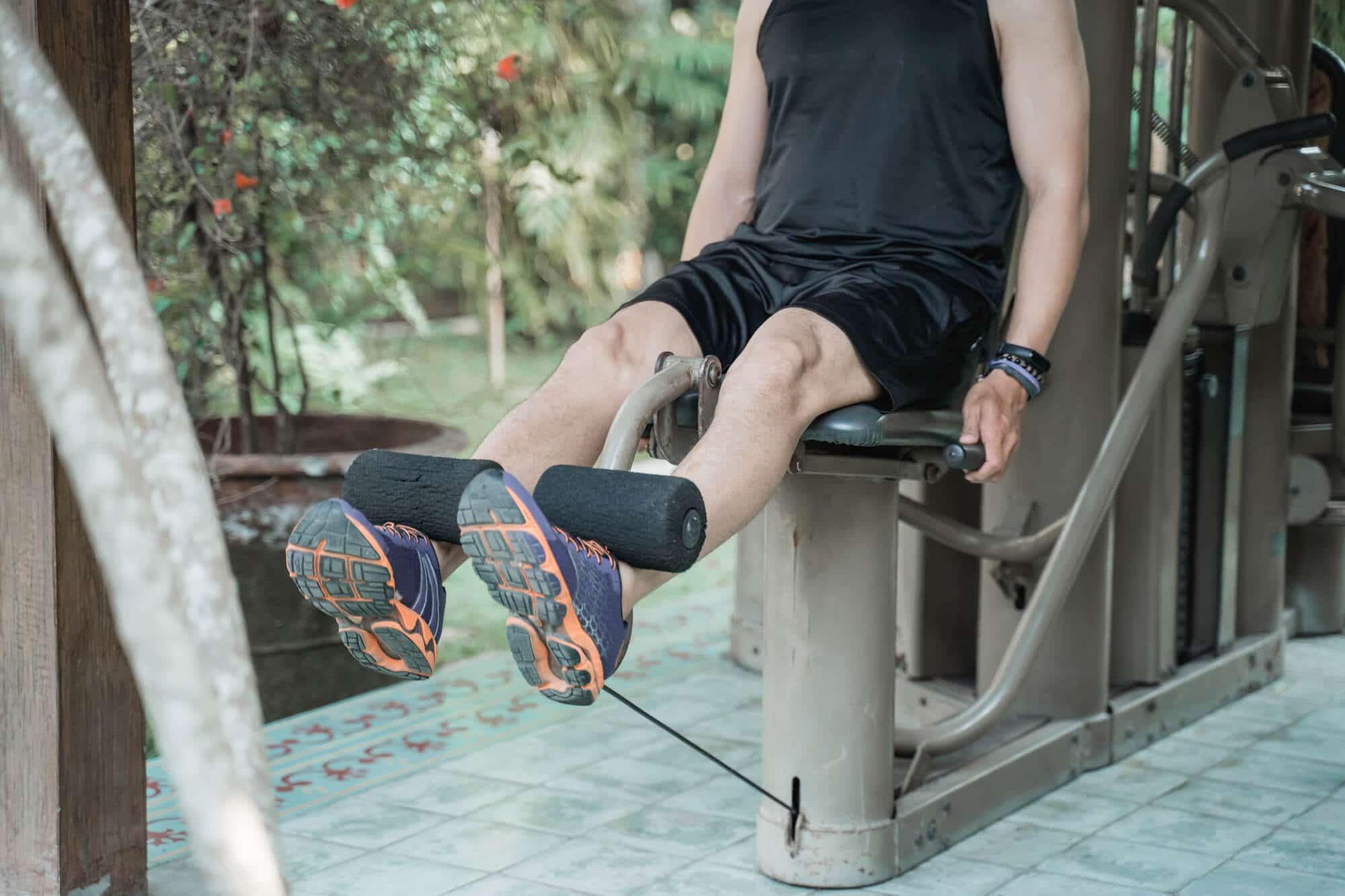 Leg Extension Machine - Fitness Expo