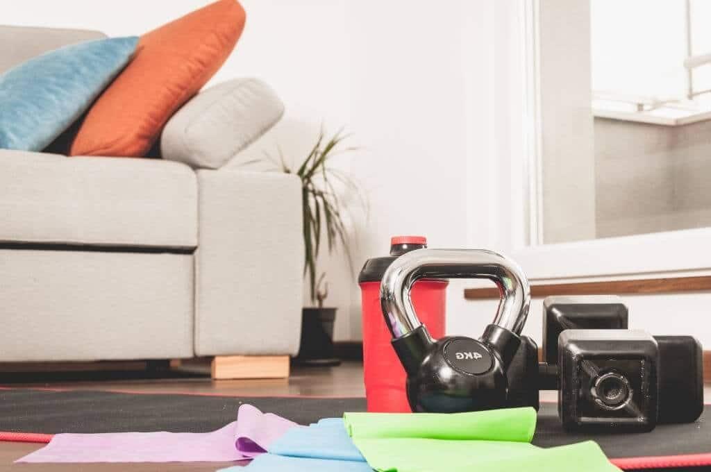 Online shopping for fitness equipment