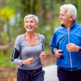 Pace Yourself Against Aging Through Fast Walking