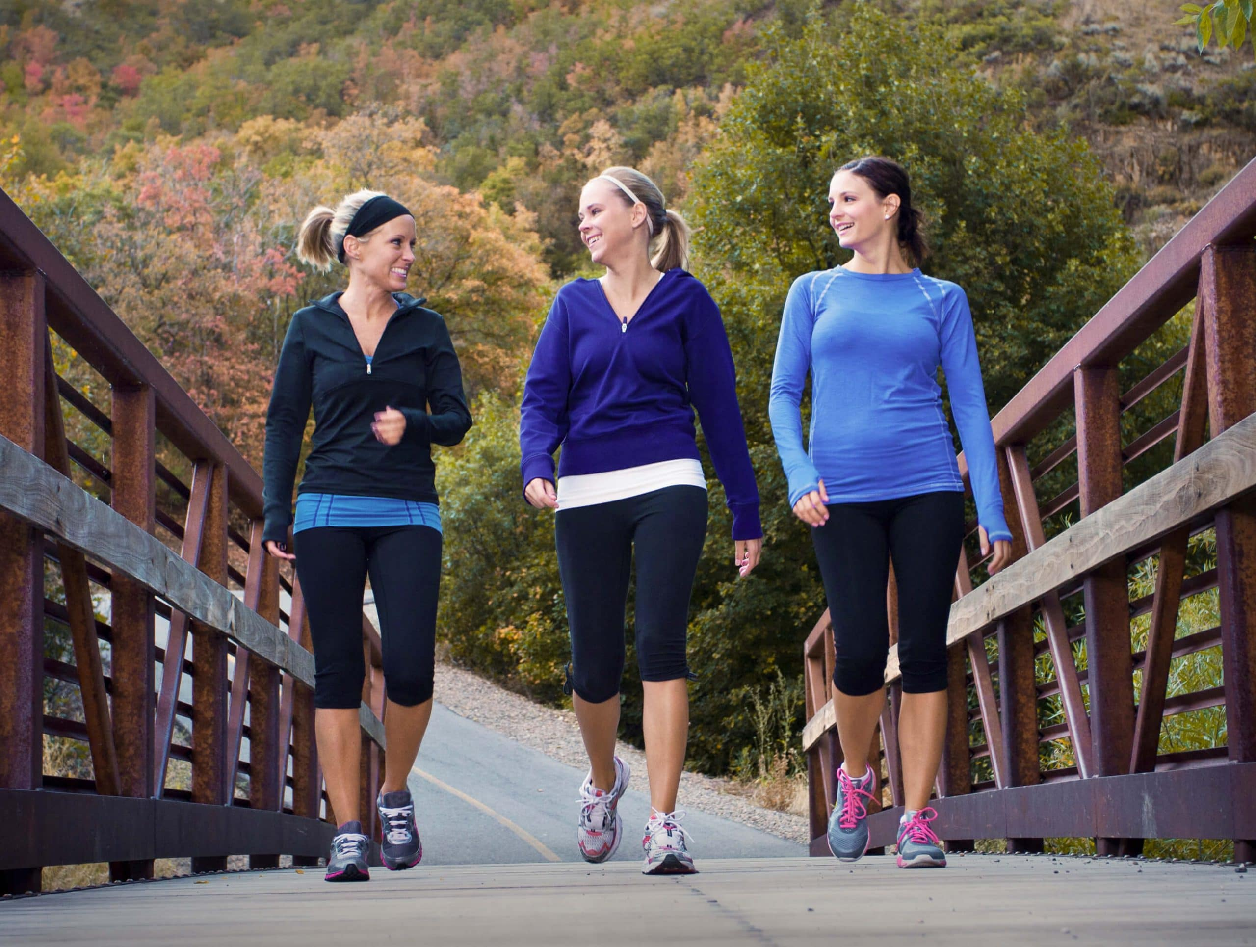 Ladies Doing Walking Exercise - Fitness Expo