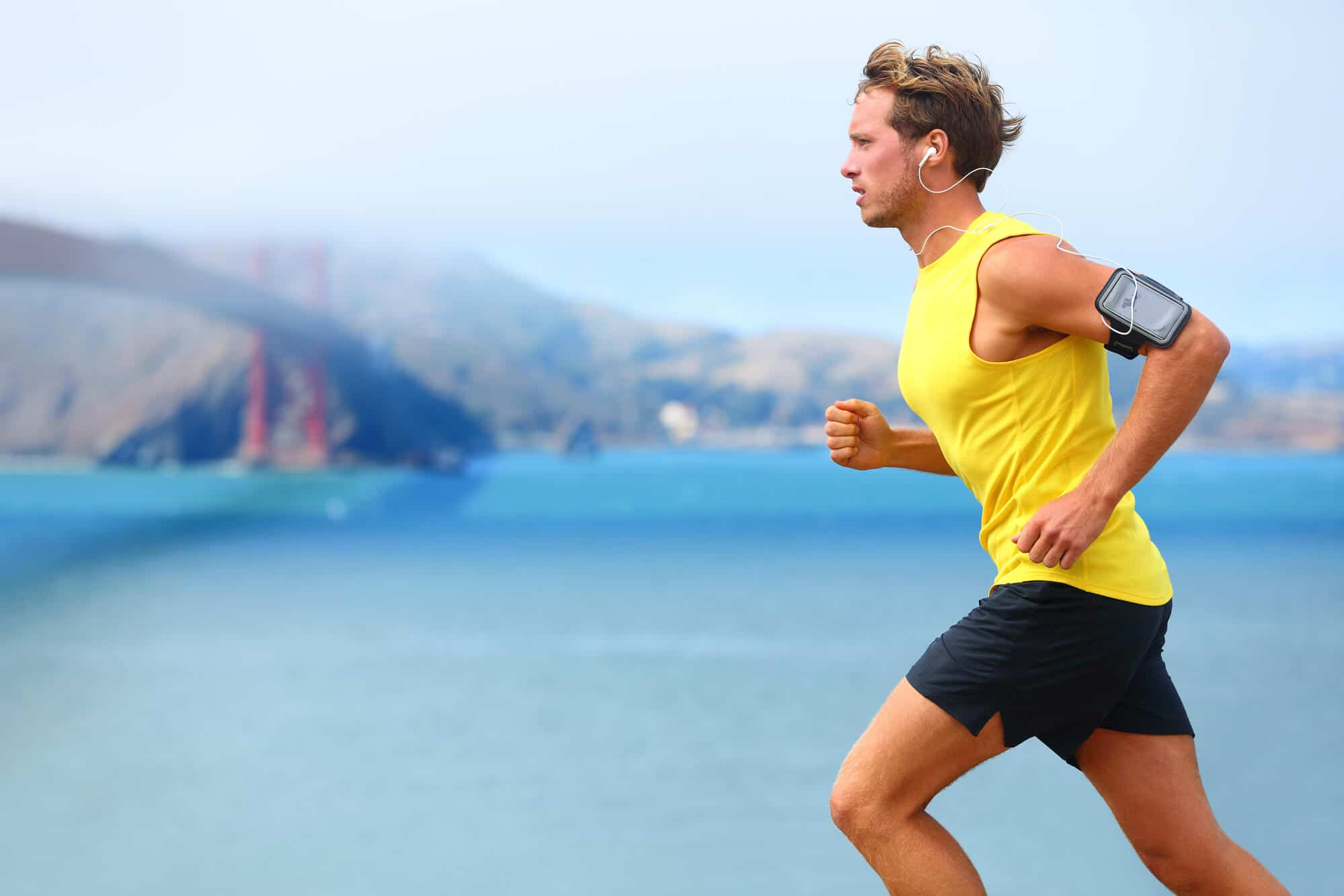 Men Doing Jogging Exercise - Fitness Expo