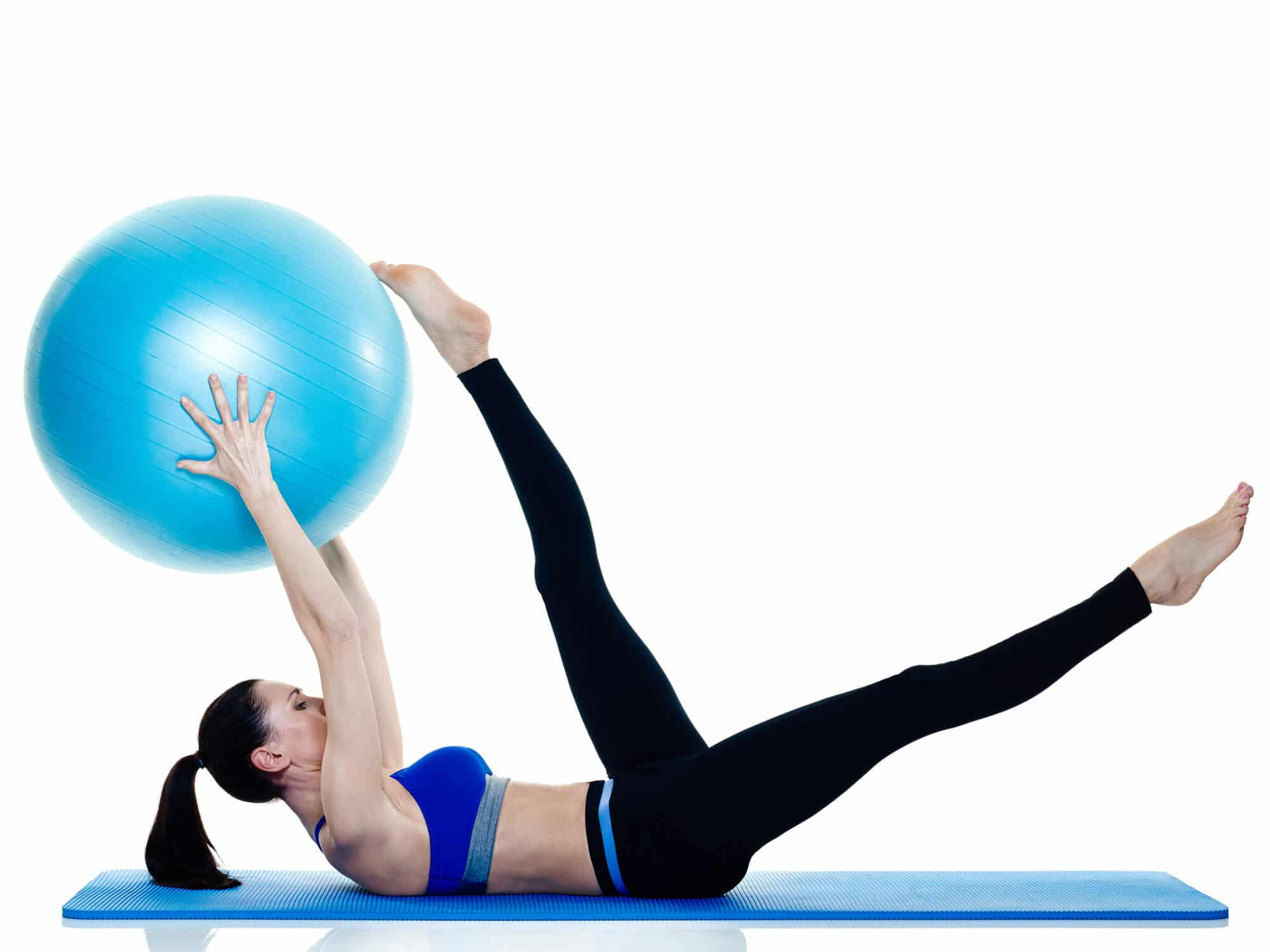Women Pilates Exercise - Fitness Expo