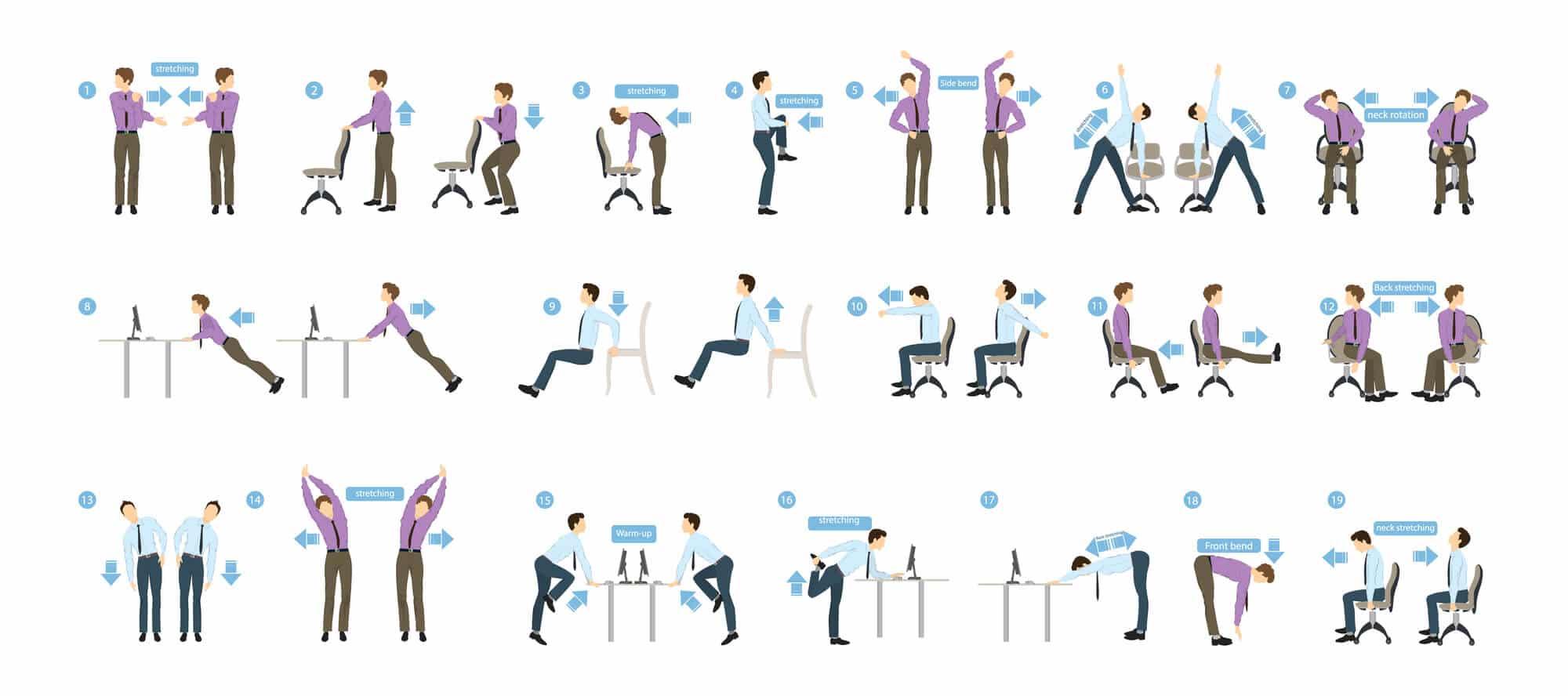 fat burning exercises while sitting - Fitness Expo