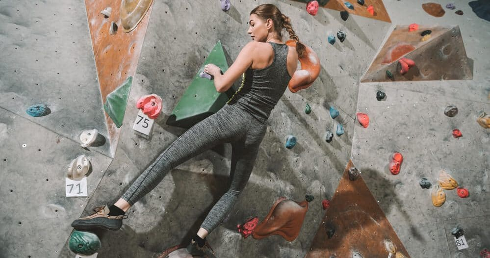 gym climbing training