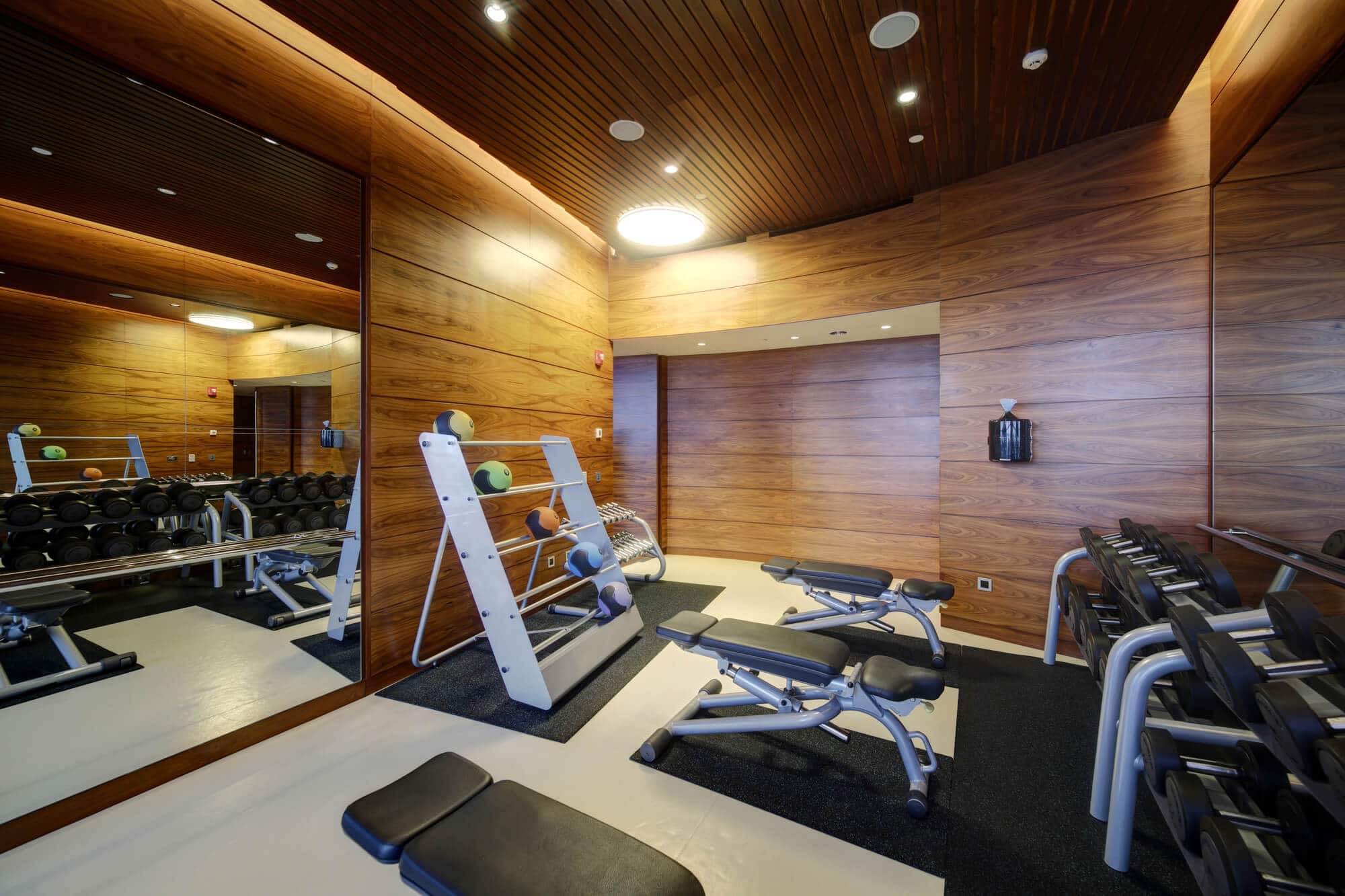 Vacant Sports Gym - Fitness Expo