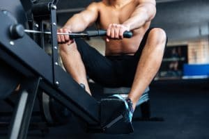 Rowing exercise - Fitness Expo