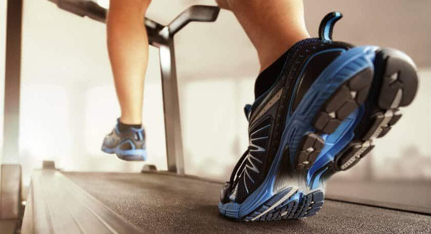 Running on treadmill-fitnessexpostores.com