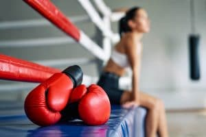 age-old fighting sport - boxing